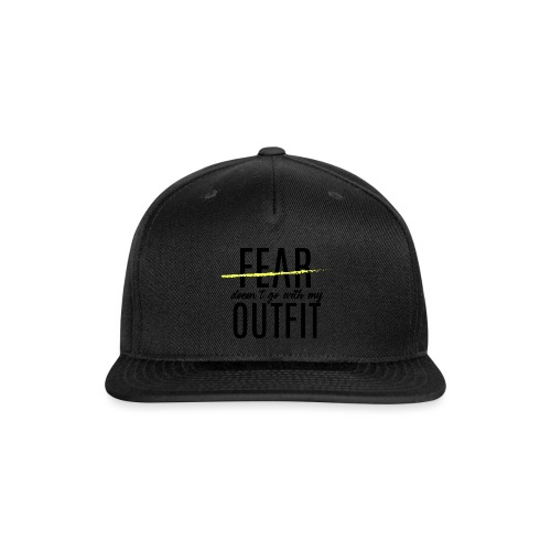 Exclusive Blackout Shirt-Y (Black Friday Special) - Snap-back Baseball Cap