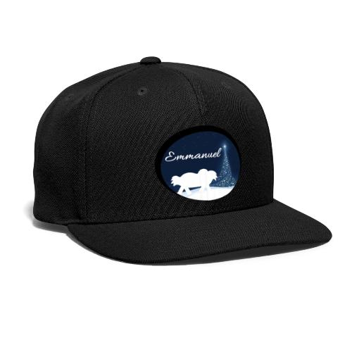 Emmanuel - Snap-back Baseball Cap