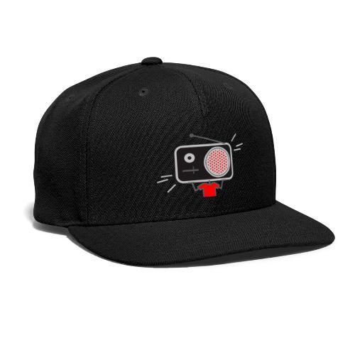 Red MusiqHead Merch - Snapback Baseball Cap