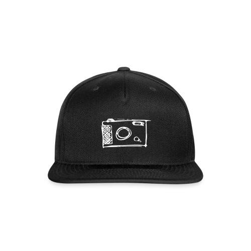 Camera hand-drawn - Snap-back Baseball Cap