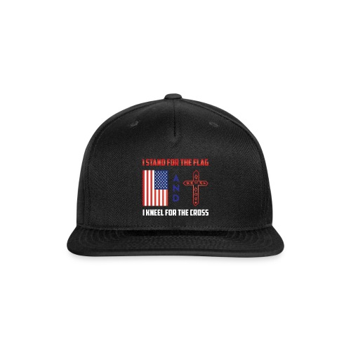 405 I STAND FOR THE FLAG - Snap-back Baseball Cap
