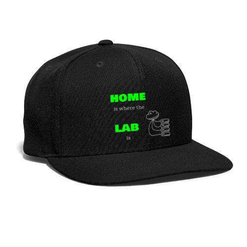 Home Is Where The Lab Is - Snap-back Baseball Cap