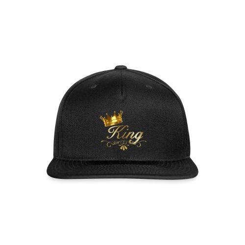 king - Snapback Baseball Cap