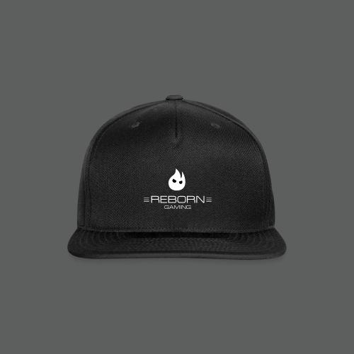 REBORN Gaming - Icon and Text on Dark - Snap-back Baseball Cap