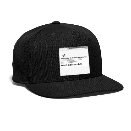 chrash chrome - Snap-back Baseball Cap