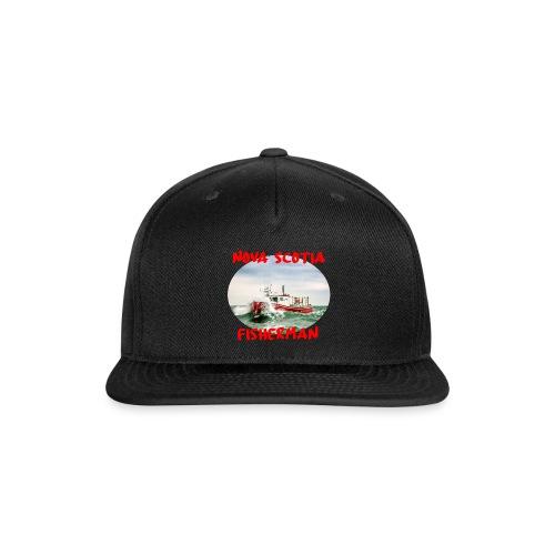 Nova Scotia Fisherman Red - Snapback Baseball Cap