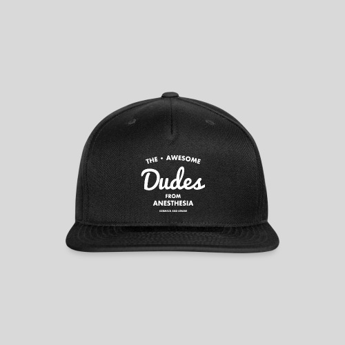Awesome Dudes - Snap-back Baseball Cap