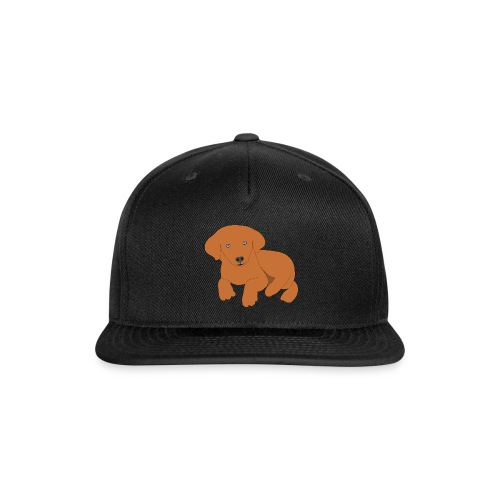 Golden retriever dog - Snap-back Baseball Cap