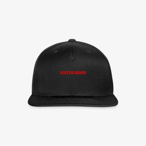 THE SISTER SQUAD LOOKS - Snap-back Baseball Cap