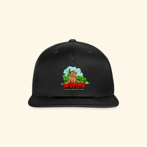 We Plants Are Happy Plants - Bear Logo - Snap-back Baseball Cap
