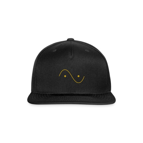 Quantum wave and particle - Snap-back Baseball Cap