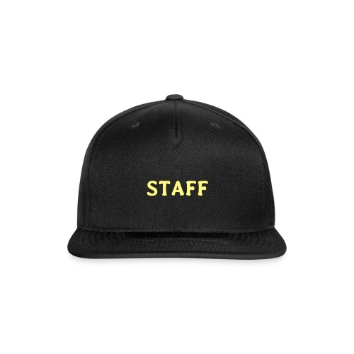 Staff - Snap-back Baseball Cap