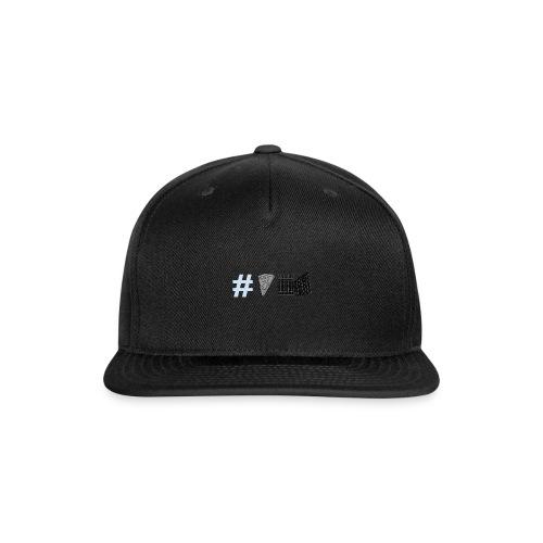 Untitled_drawing - Snap-back Baseball Cap