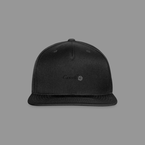 Cancelled - Snapback Baseball Cap