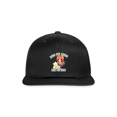 ZERO FOX GIVEN - Snap-back Baseball Cap