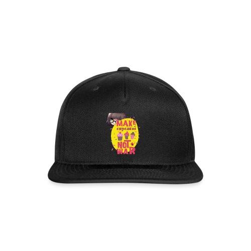MAKE CUPCAKES - Snap-back Baseball Cap