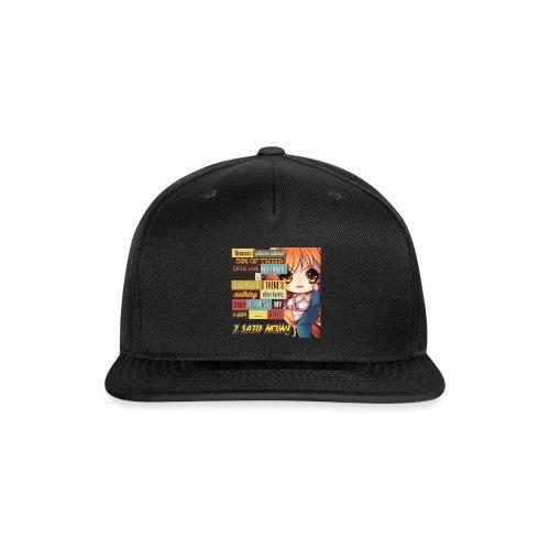 GTFOH!! - Snap-back Baseball Cap