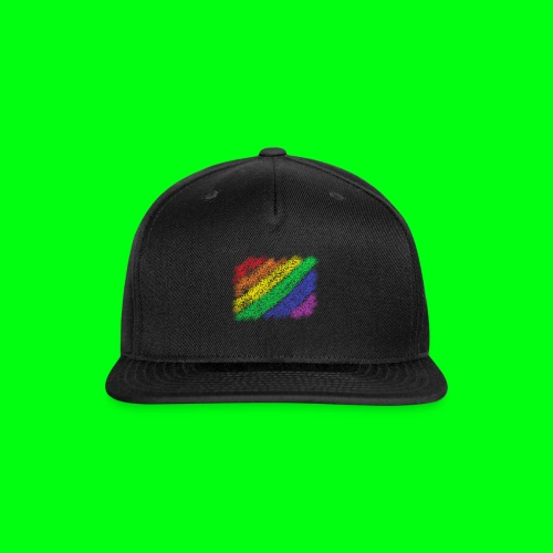 Pride Flag - Snap-back Baseball Cap