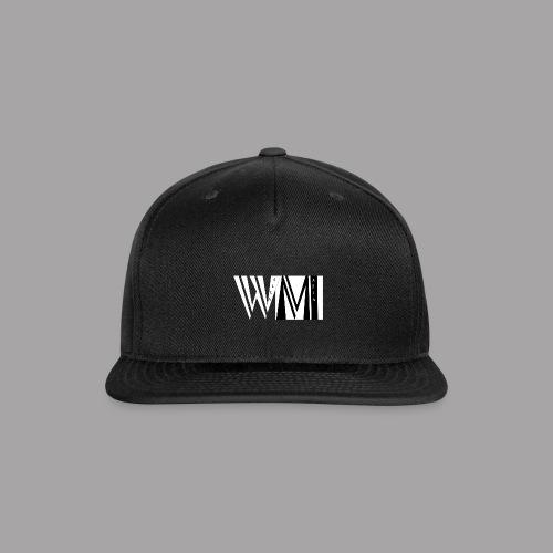 WALLSMAFIAwhite - Snap-back Baseball Cap
