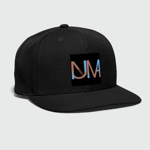Numa Logo black background - Snap-back Baseball Cap