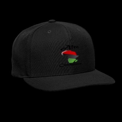 afro-conscious blk - Snap-back Baseball Cap