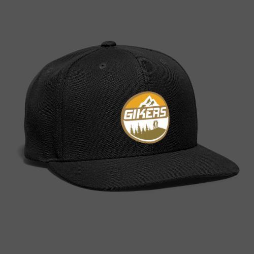 Gikers: Gay Hikers & Bikers - Snap-back Baseball Cap