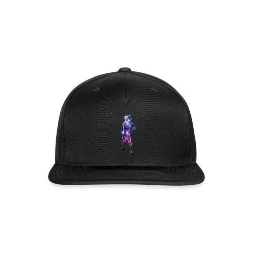 galaxy skin! - Snap-back Baseball Cap