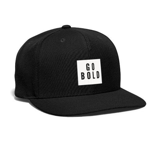 GO BOLD 2 - Snap-back Baseball Cap