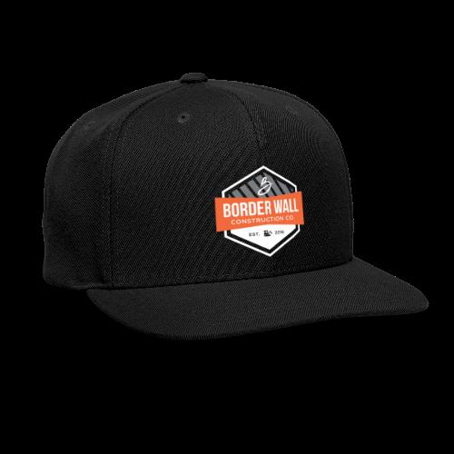 Border Wall Construction Crew - Snap-back Baseball Cap