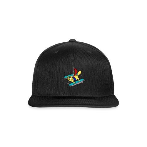 Cat Catamaran - Snapback Baseball Cap