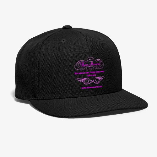 Those Memories logo - Snap-back Baseball Cap