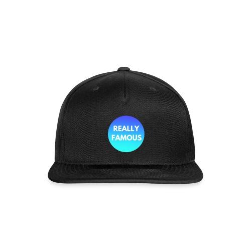 Really Famous Logo - Snap-back Baseball Cap
