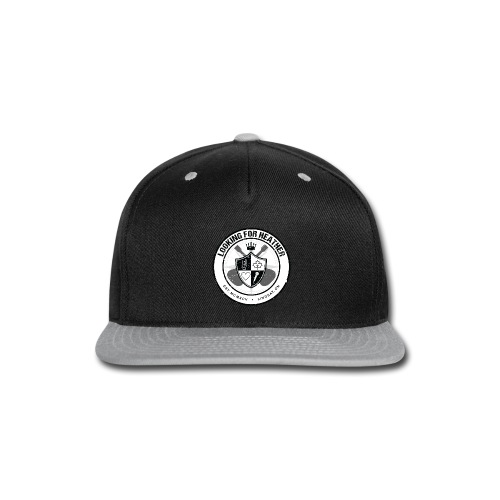 Looking For Heather - Crest Logo - Snap-back Baseball Cap