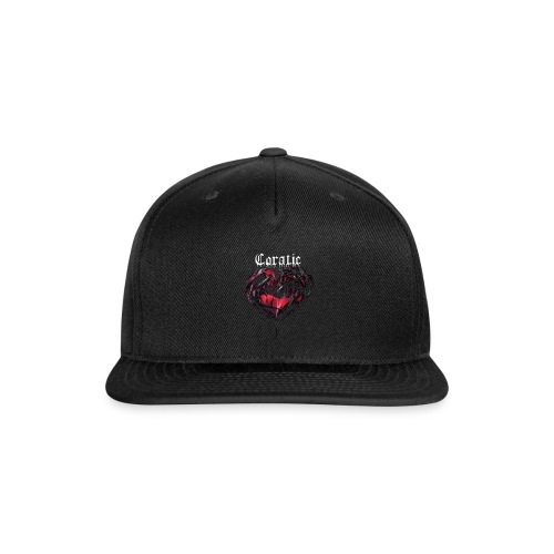 Coratic Heart Logo - Snap-back Baseball Cap