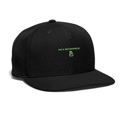 Necrophiliac - Snapback Baseball Cap