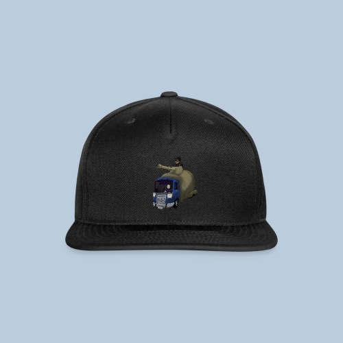 Out of Poopy - Septic Truck - Snap-back Baseball Cap