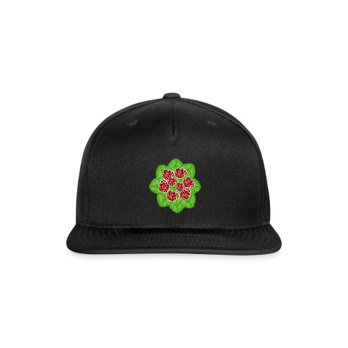 African Violet Graphic - Snap-back Baseball Cap