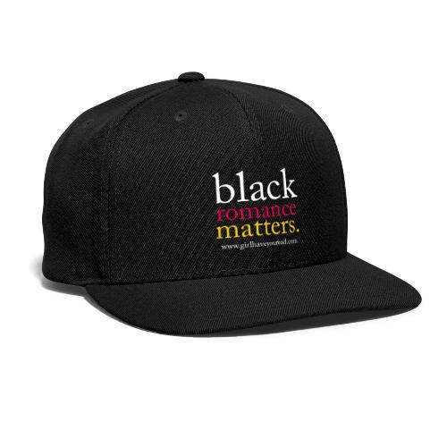 Classic Black Romance - Snap-back Baseball Cap