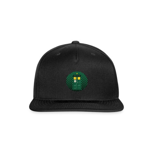 Green Phone box art - Snap-back Baseball Cap