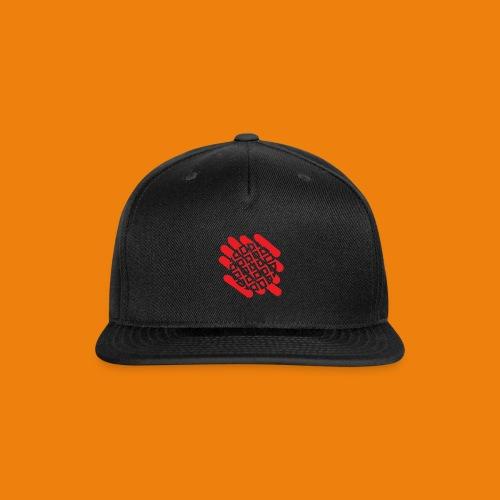 Waffles without Borders Logo - Snap-back Baseball Cap