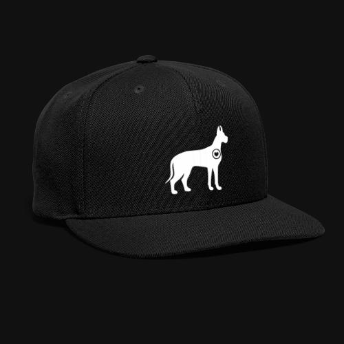Great Dane love - Snap-back Baseball Cap