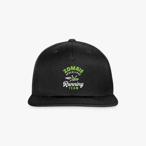 Zombie Apocalypse Running Team - Snap-back Baseball Cap