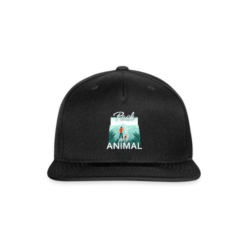 Life Is Really Good Pack Animal - Snap-back Baseball Cap