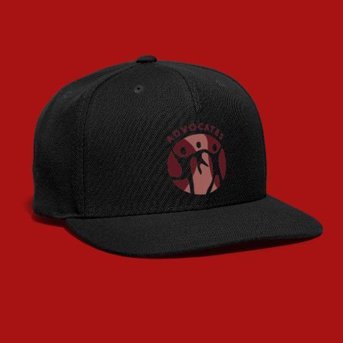 Advocates Logo Transparent - Snap-back Baseball Cap