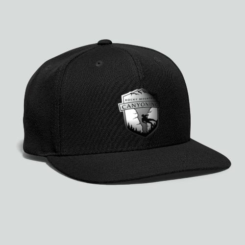 2TONE LOGO ONLY-on light front-1 sided - Snapback Baseball Cap