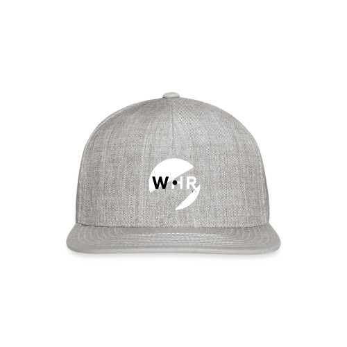 White Horse Records Logo - Black - Snap-back Baseball Cap