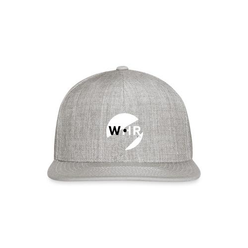 White Horse Records Logo - Black - Snapback Baseball Cap