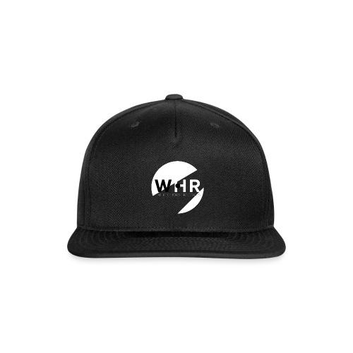 White Horse Records Logo - Black - Snap-back Baseball Cap