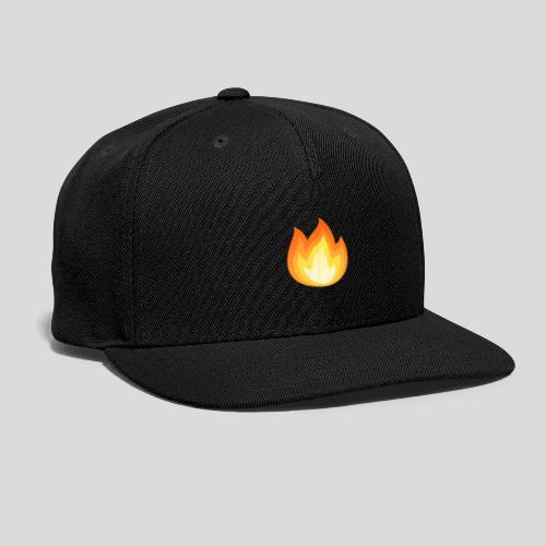 Flame On - Snap-back Baseball Cap