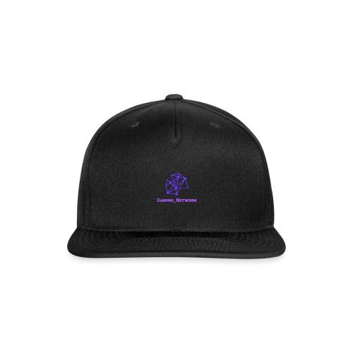 gaming network purple flat cap - Snap-back Baseball Cap